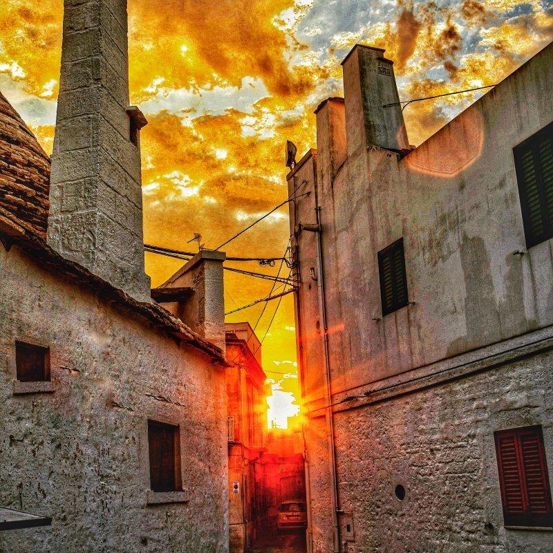 The sun ...suddenly !