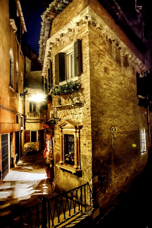 Venice, the corner house