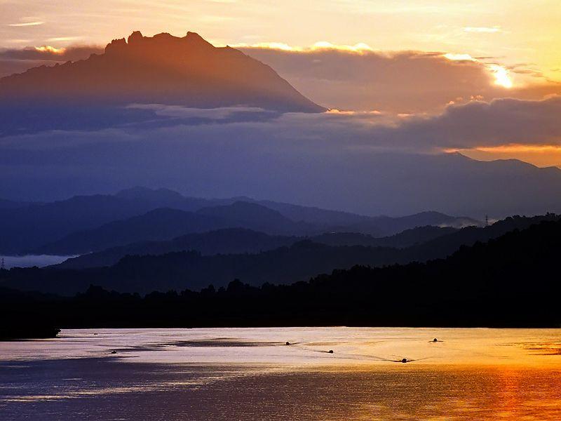 Sunrise @Gayang, Sabah