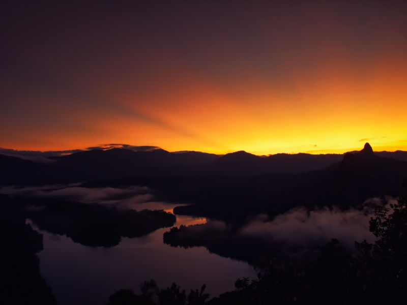 Bukit Tabur: First light