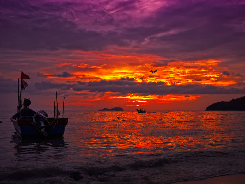 sunset @Permatang Damar Laut