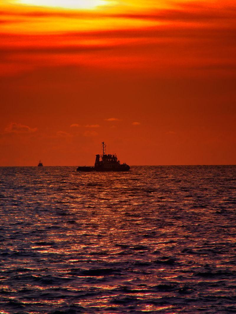 Sunset @Port Dickson