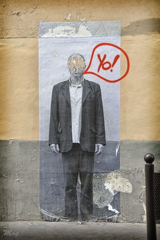 Dessin mural rue Durantin, Paris (Juin 2009)