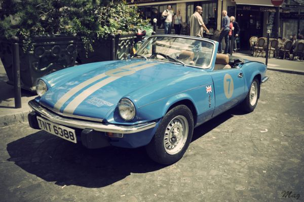 Photo d'une Triumph Spitfire 1500 (juin 2009)