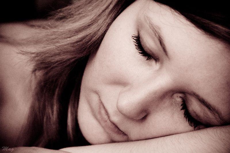In her dreams...