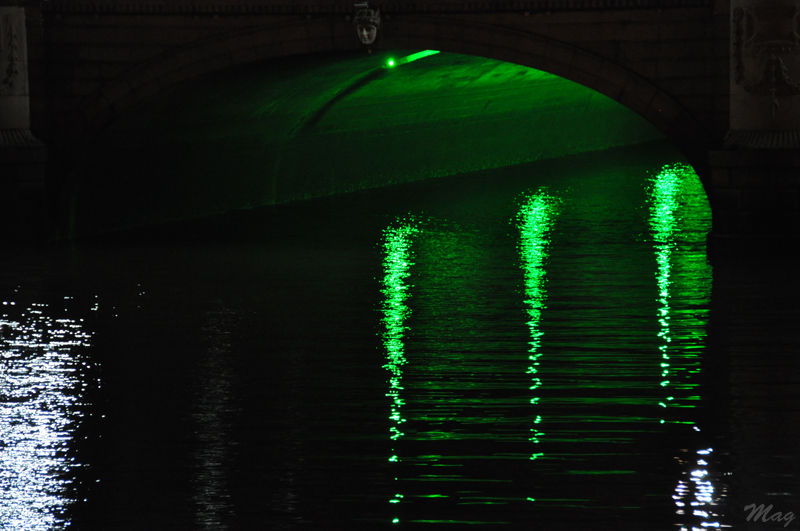 O'connell bridge by night, Dublin