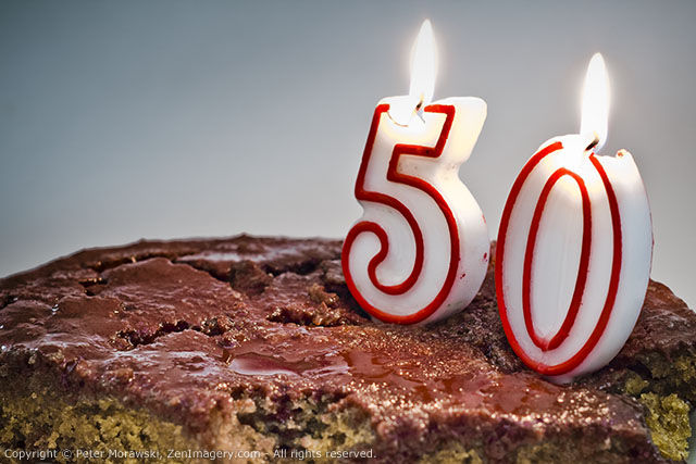 Day 33: Happy 50th Birthday