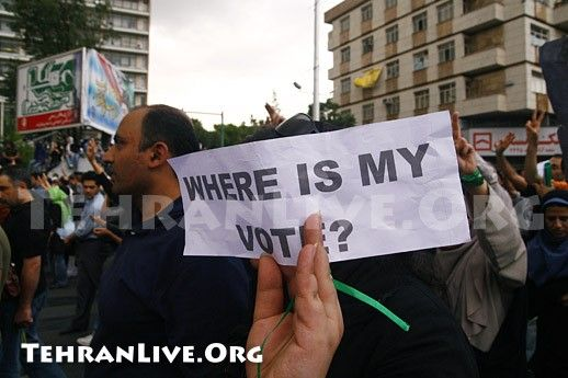 Where is my vote?