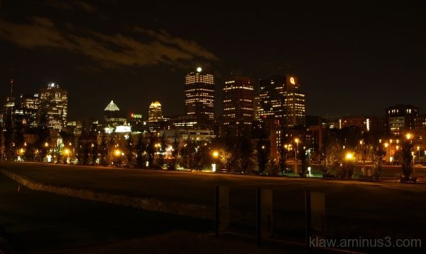 Night, Cityscapes, Montreal