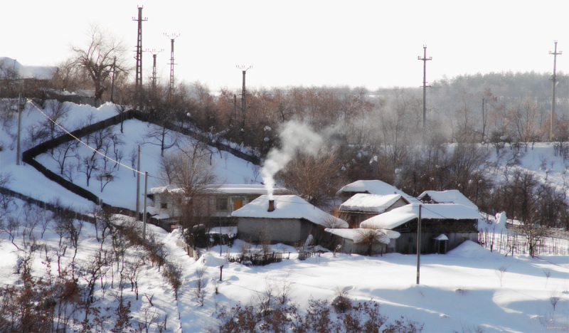 Sat Obogeni, Com. Stoilesti, 19.02.2012 Smoking