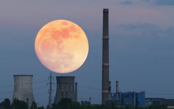 97% moon
