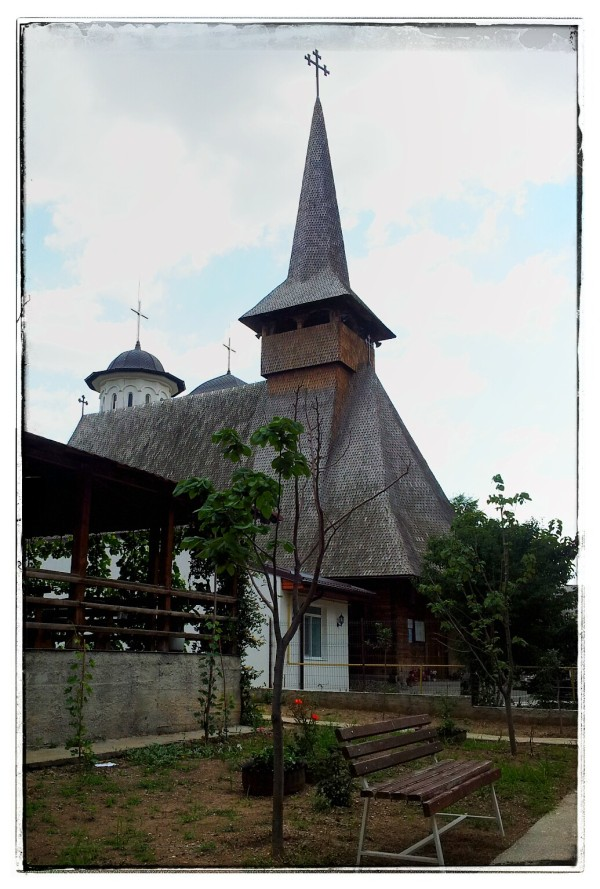 Wood Church in Bucharest