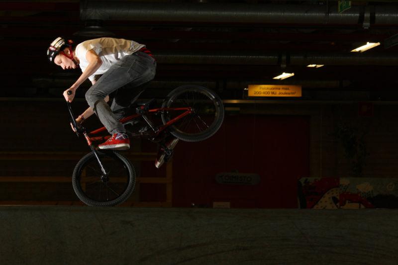 BMX at Kontula