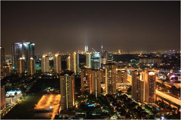 Lights @ Night in KL