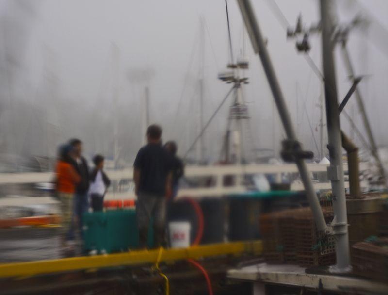 Fish Market on Navy Pier, Santa Barbara, CA