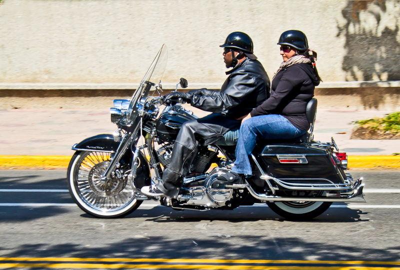 Santa-Barbara, motorcycle