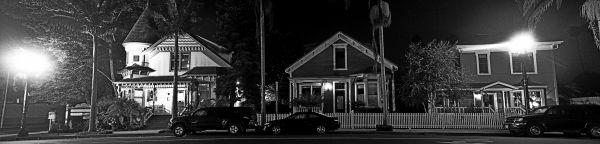 Santa-Barbara, Chapala-Street, nocturne, night-pho