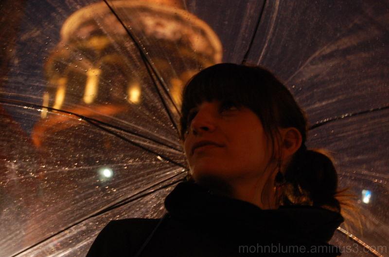 under my umbrella...