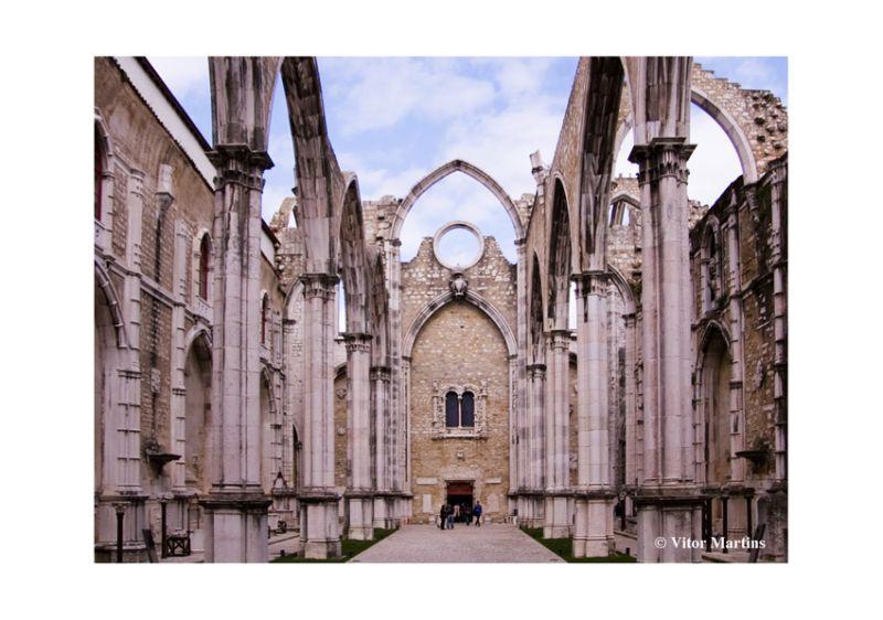 Lisbon - Convento do Carmo ##