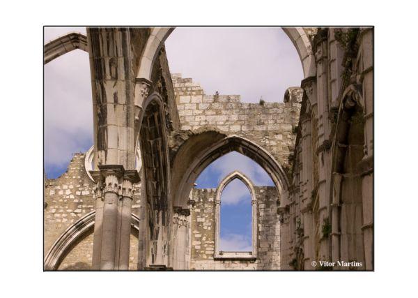 Lisbon - Convento do Carmo ###