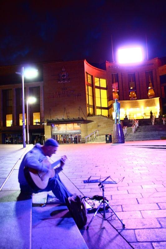 Buchanan Galleries at night