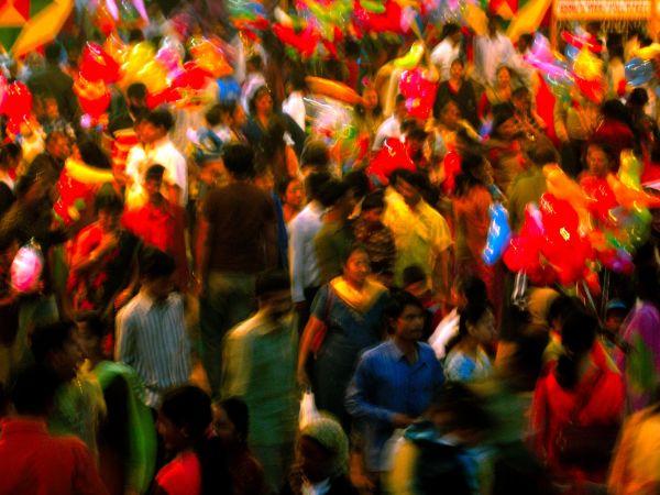 people market colour motion