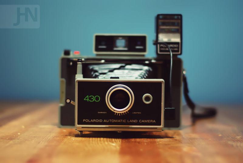 My Polaroid 430.