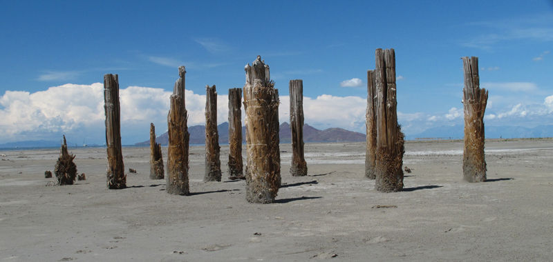 Posts at the Great Salt Lake