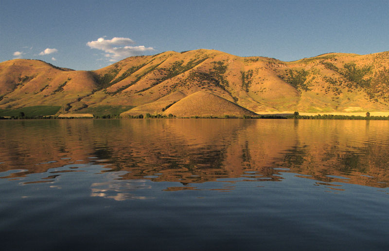 Mantua reservior in Utah