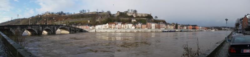 La Meuse en crue