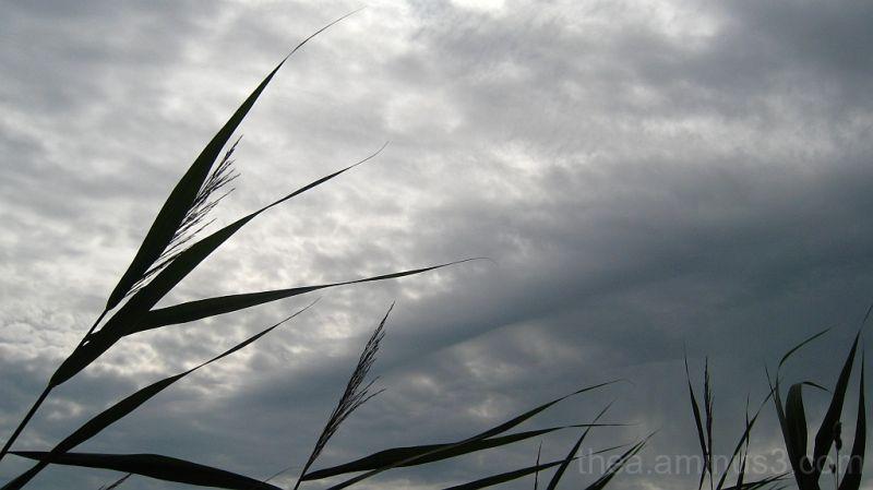 clouds wind landscape rain