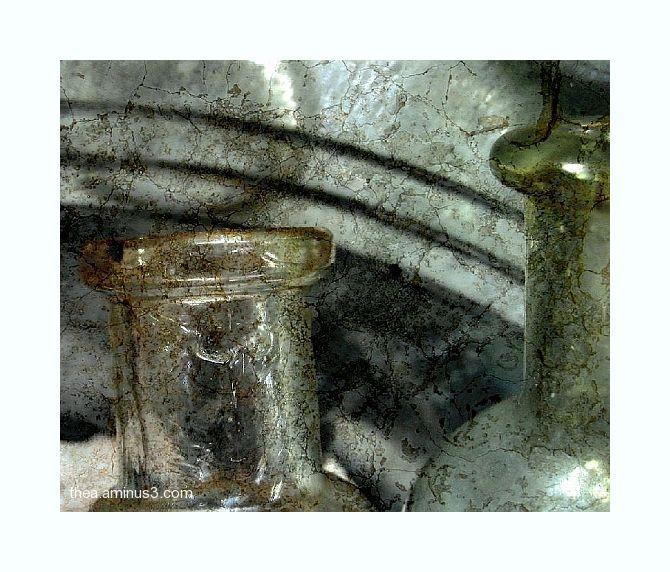 medicine bottles glass finds macro