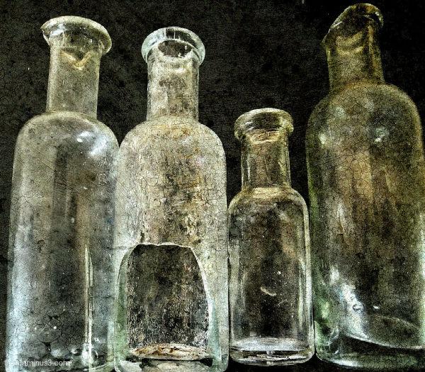 bottles macro