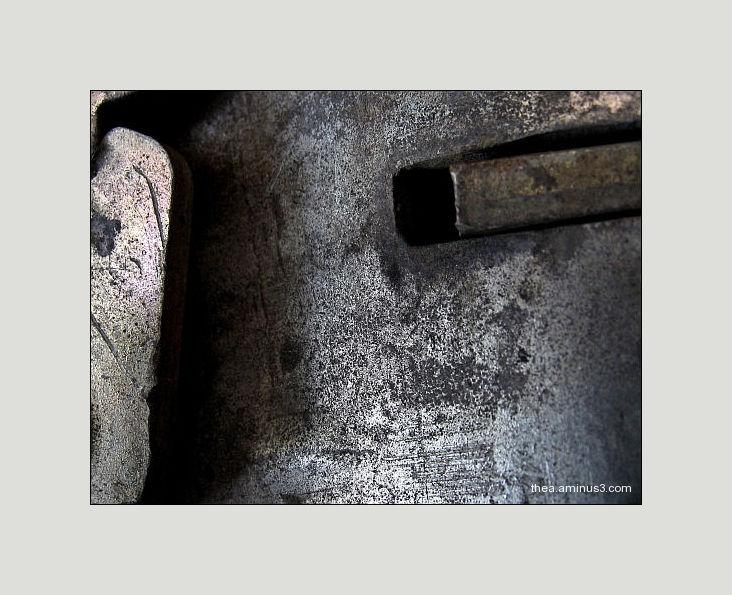 iron textures macro