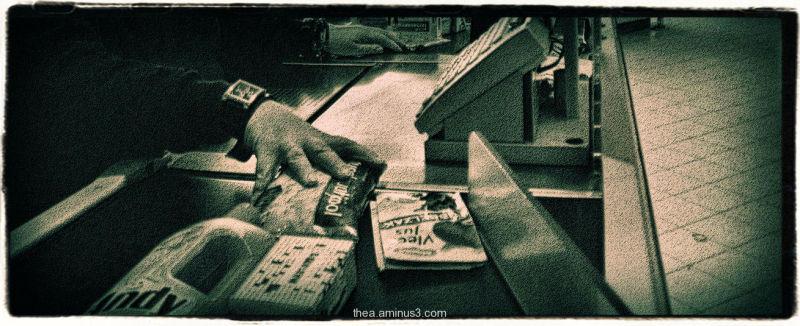 kassa shop scanner
