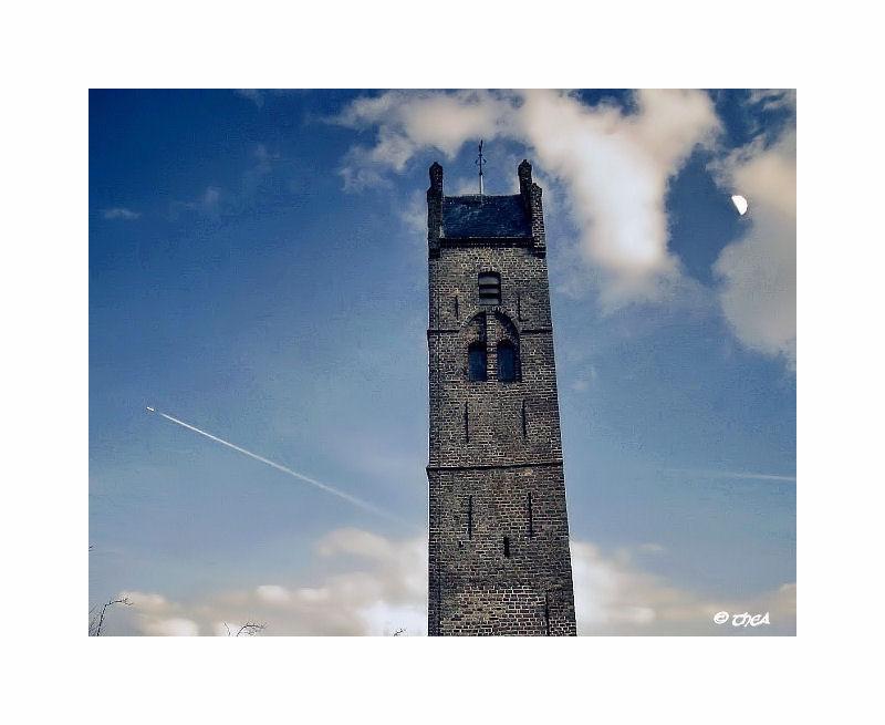 tower church Firdgum Friesland
