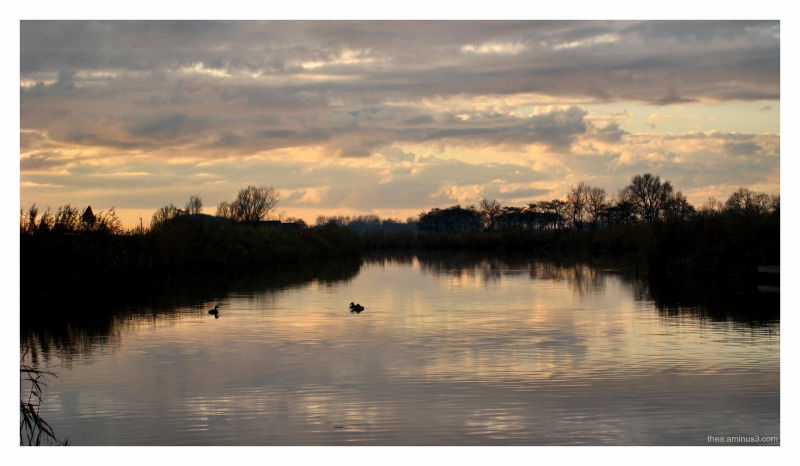 water reflections Friesland