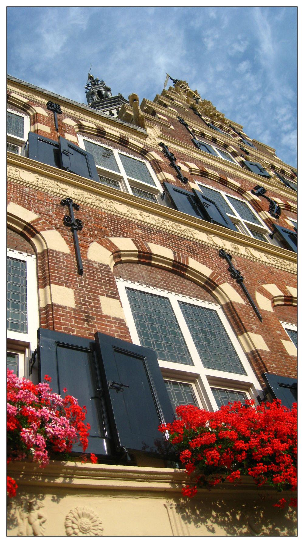 cityhall monument Franeker Friesland
