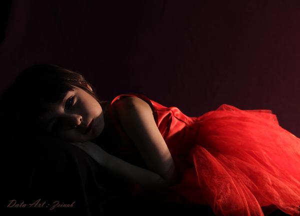Sad but lovely girl