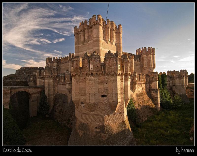 Alba Adriatica Alhambra castle