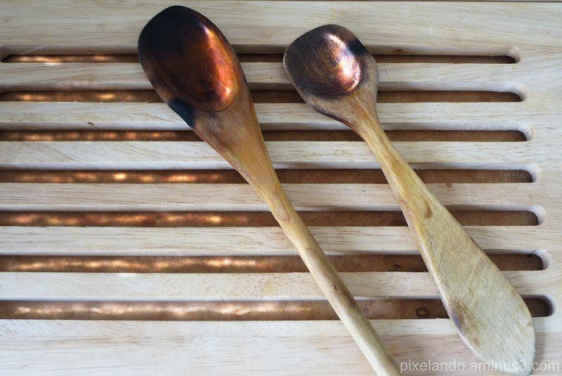 ustensilios de cocina de madera