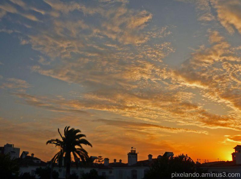 anochecer en Jerez
