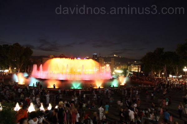 The Montjuïc Magic fountain