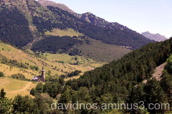 Sanctuary of Montgarri's valley