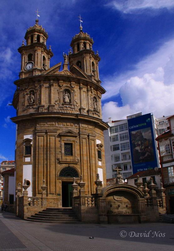 Church of La Peregrina (Pontevedra)