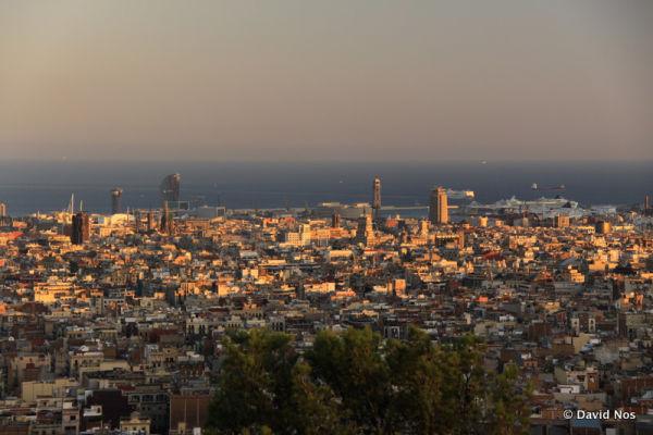 Barcelona, viewed from Park Güell