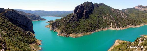 Reservoir of Canelles