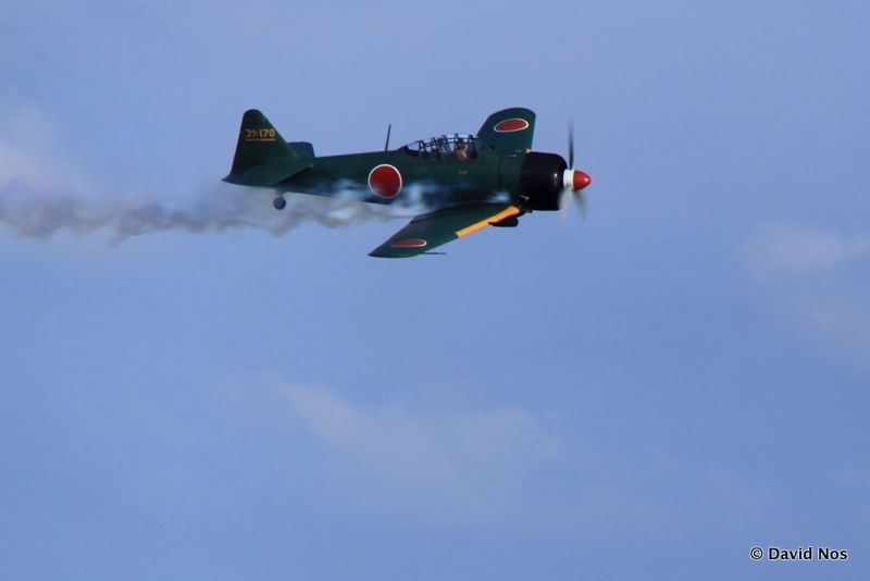 "AT-6B M0 as ""Mitsubitshi Zero"""