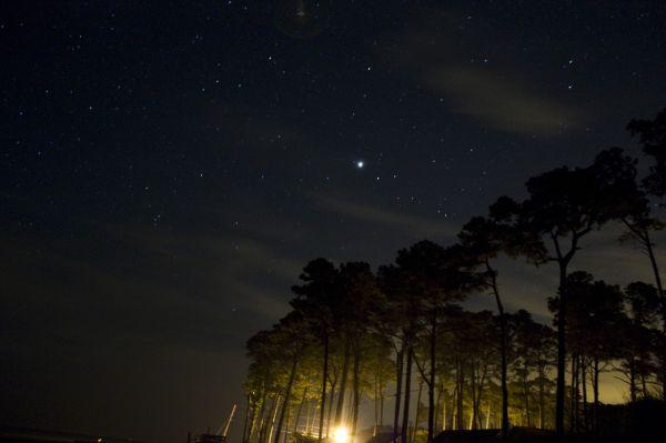 Jupiter from Gwynn Island