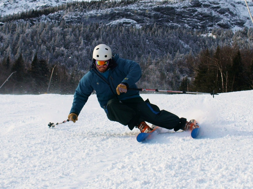 Ski carve